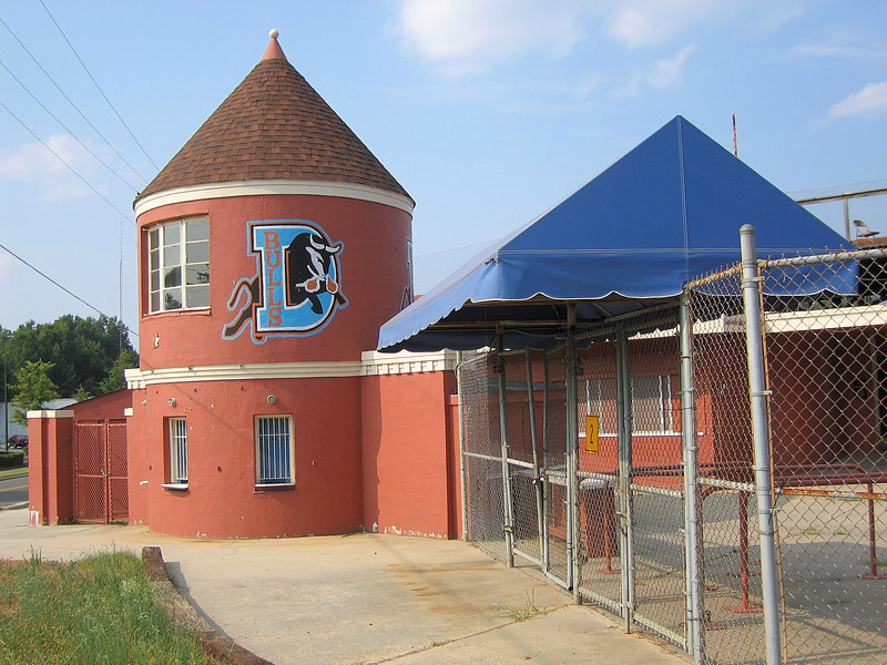 Durham Athletic Park (old Durham Bulls baseball park)