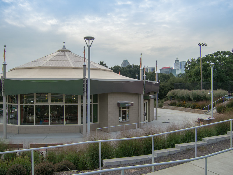 20140808 Allan Herschell Carousel (circa 1923), John Chavis Memorial Park, Raleigh NC (1714)