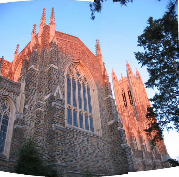 Duke Chapel [panoramic]
