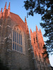 Duke Chapel from side near sunset