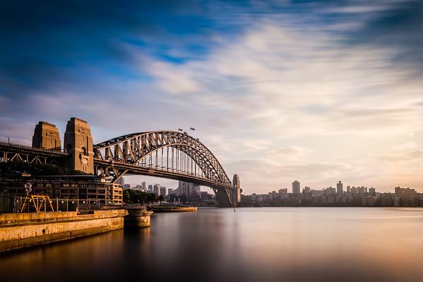 Sydney Harbour Bridge Sunrise