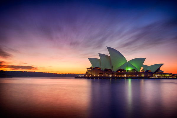 Sydney Opera House Sunrise