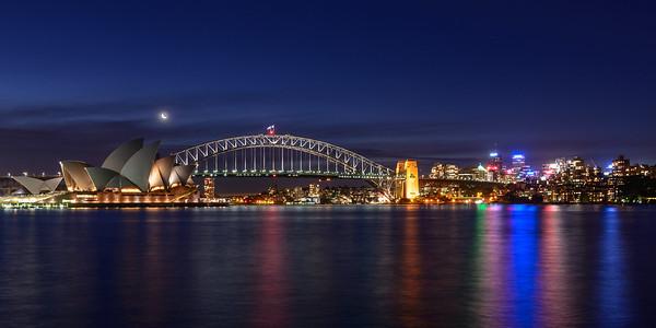 Sydney Harbour Moonlight