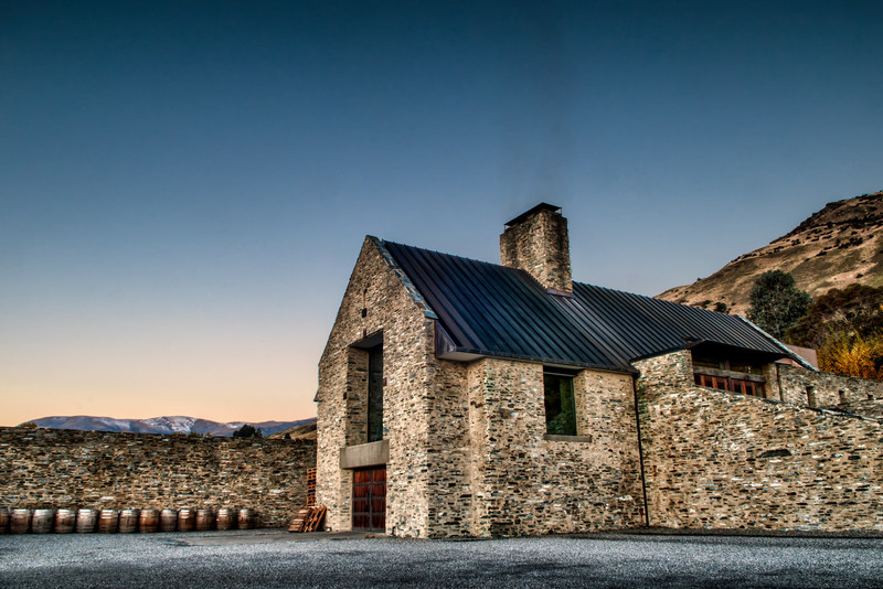 Amisfield Winery Twilight, Central Otago