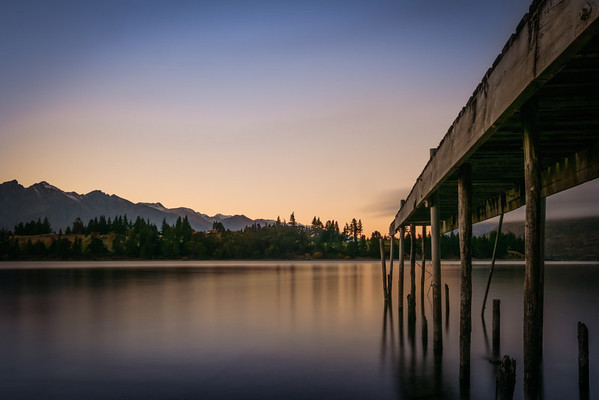 Jetty Sunrise, Queenstown