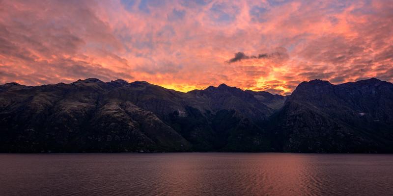 Lake Wakatipu Sunset