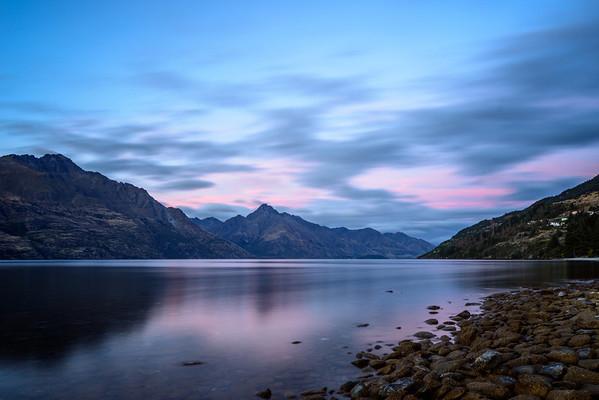 Lake Wakatipu Pink