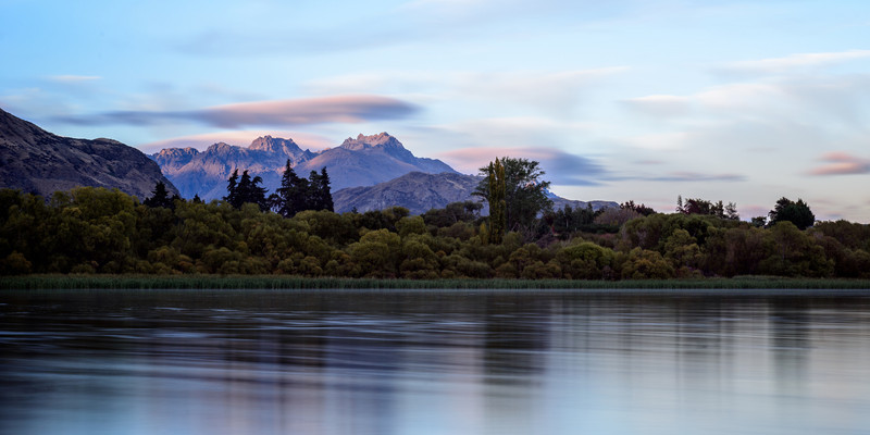 Calm Lake Hayes Morning