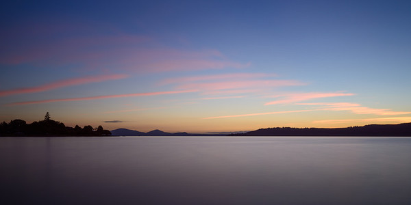 Lake Taupo Peaceful Sunset