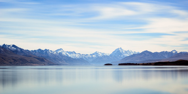 Lake Pukaki Blue