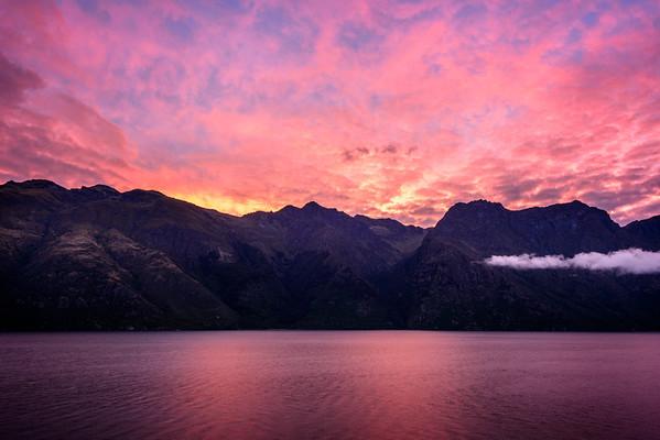 Pink Lake Wakatipu