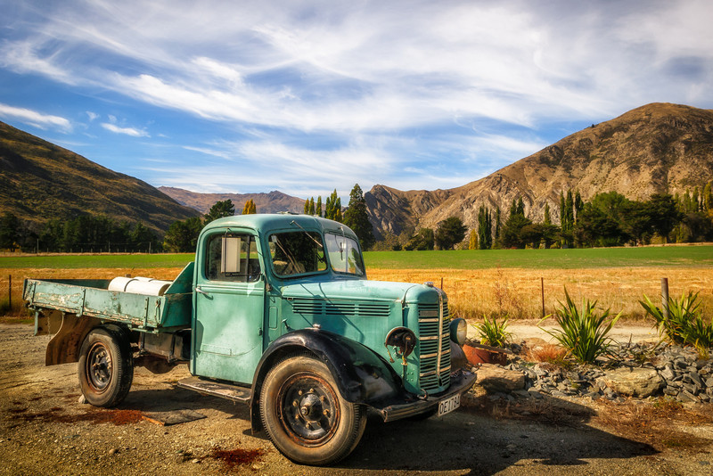 Waitiri Creek Truck, Central Otago