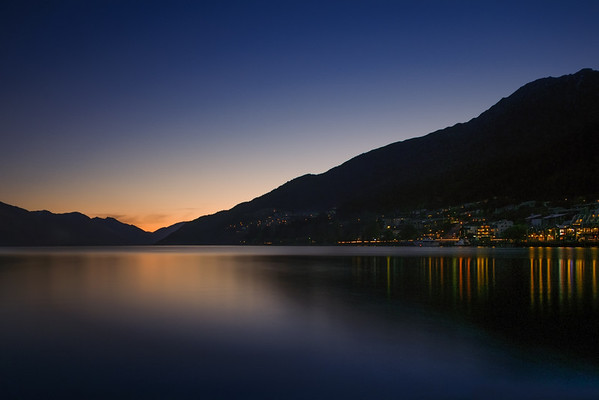 Dark Sunset, Queenstown