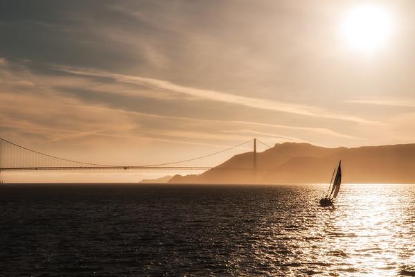 Golden Gate Sunset, San Francisco