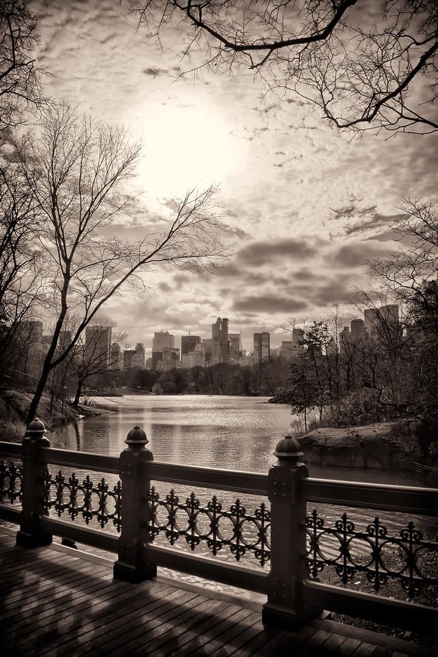 Central Park Lake, New York