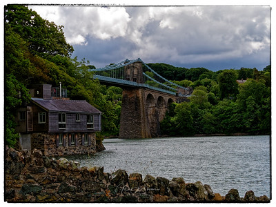 Careg yr Halen and Menai Bridge