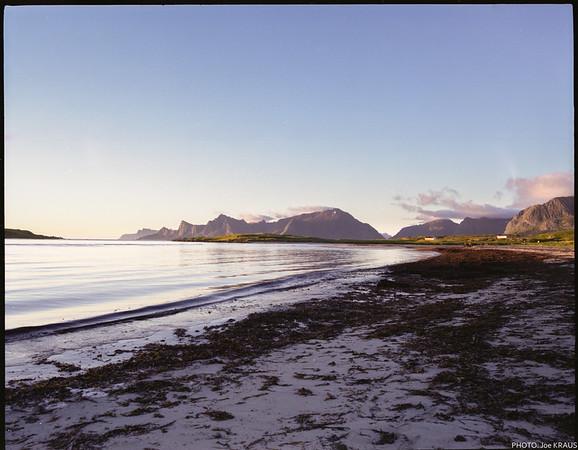 Midnight Sun Shoreline