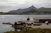 Looking south west to Gravdal (Lofoten Islands) from Leknes pier. 6 June 2008