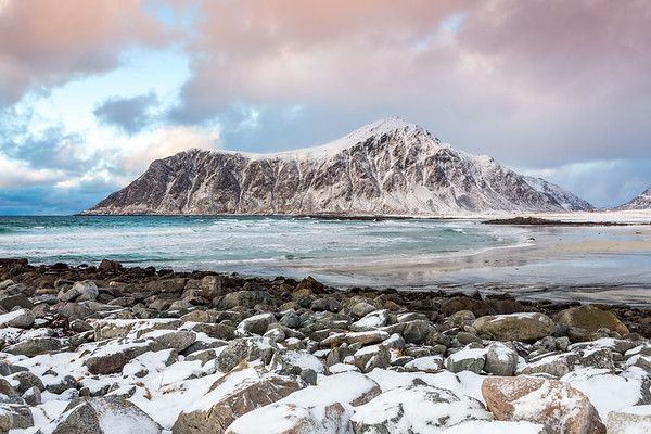 Flakstad beach, Lofoten, Norway, 2015
