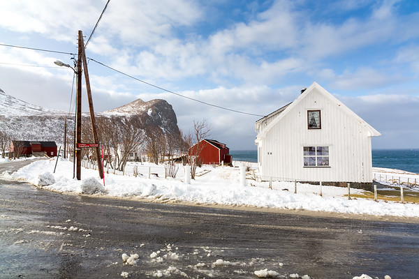 Myrland village, Lofoten, Norway, 2015