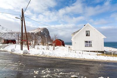 Myrland village, Lofoten, Norway, 2015