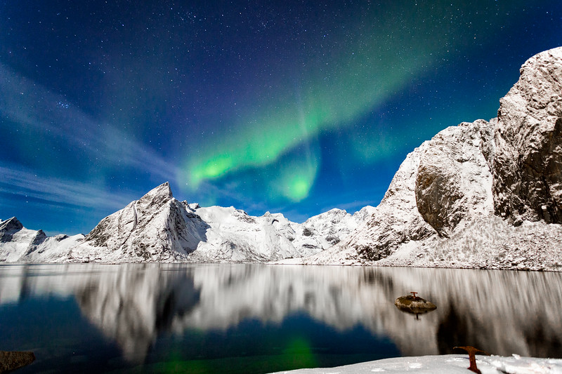 Reflecting The Aurora