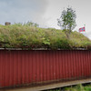Rorbuer in Sund: Since people were to poor to buy tiles, the roofs were covered with grass.