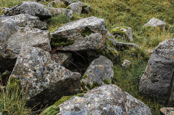 Above Unstad: Stones