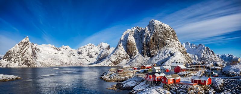 Reinefjord Mountains