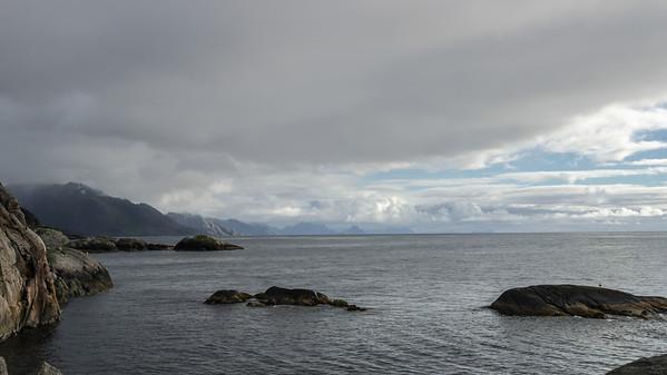 Moskenesøya: The Ocean near Hamnøya