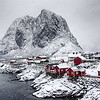 A Day of Snow at Hamnoy