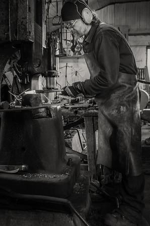 The Blacksmith of Sund:The Master at Work