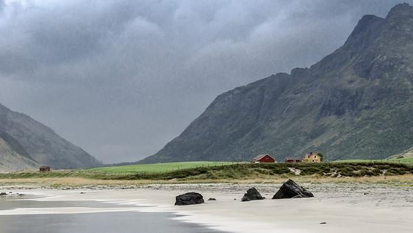 Beach Near Flakstad