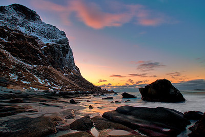 Sunset in Lofoten
