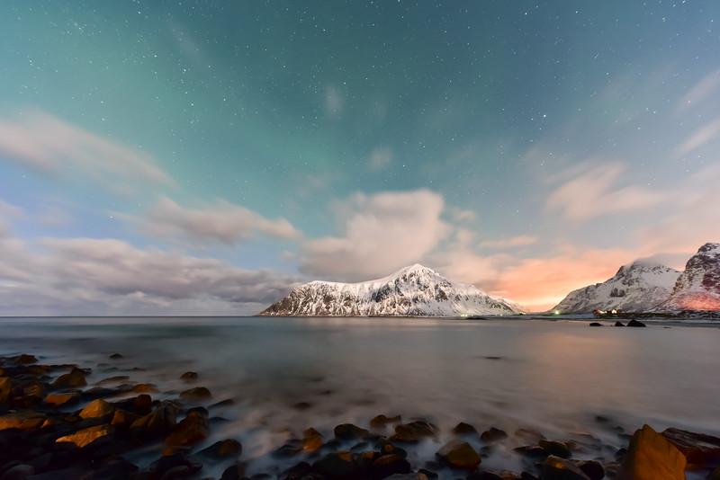 Skagsanden Beach, Lofoten Islands, Norway