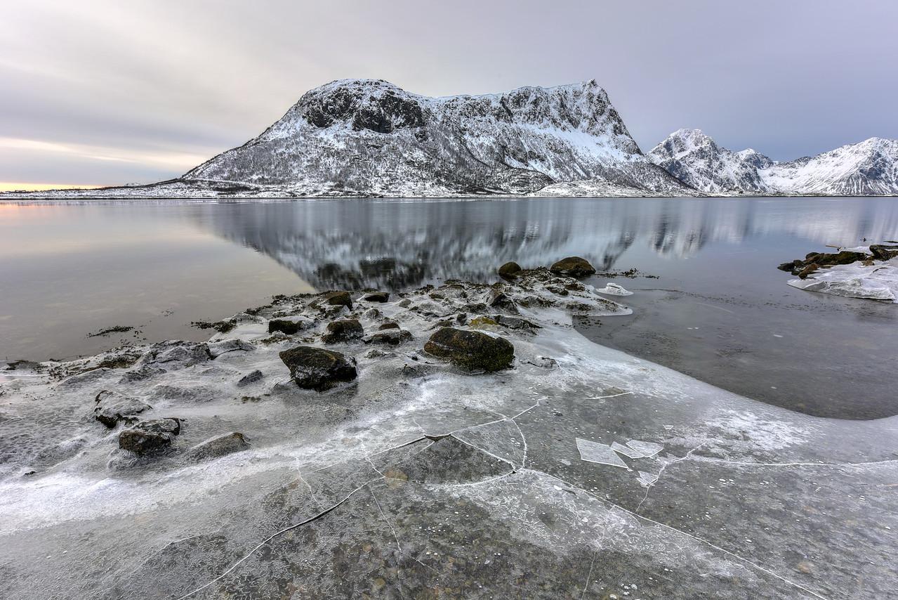 Vagspollen, Lofoten Islands, Norway