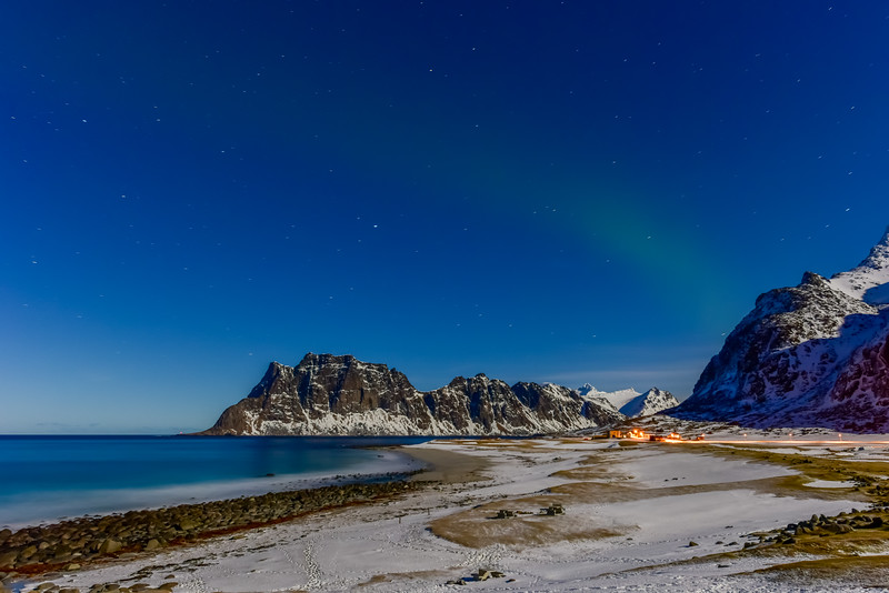 Utakleiv Beach, Lofoten Islands, Norway