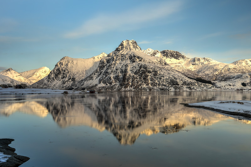 Flakstadoya, Lofoten Islands, Norway