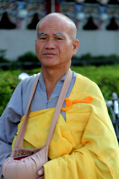 Monk in Taipei