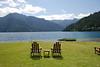 Perfect lakeside hangout