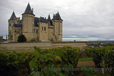 Chateau of Saumur, Loire Valley, France