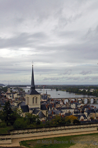 VIllage of Saumur, Loire Valley, France