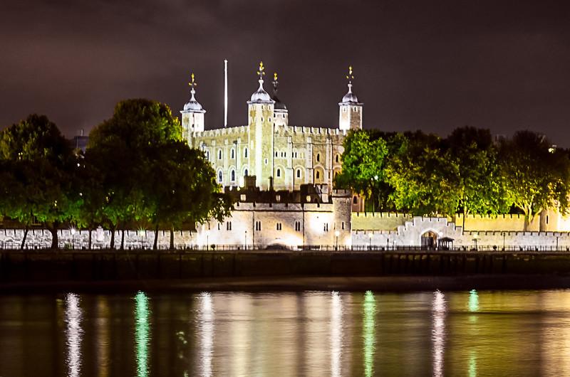 White Tower at Night
