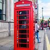 Iconic British Phone Booth