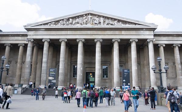 вход в британский исторический музей