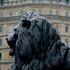 Bronze lion, Trafalgar.