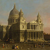 St. Paul's, by Canaletto (1750)