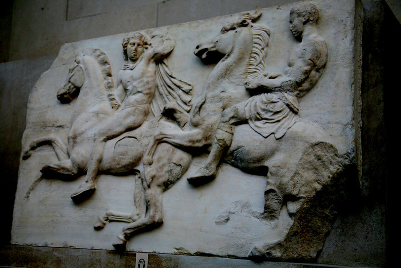 Parthenon frieze.