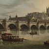 Westminster Bridge before Parliament was built (J. C. Stadler, 1790, British Library).