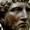 2nd Century bust of Hadrian found in the Thames in 1834.